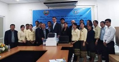 Hand over of the laboratory diagnostic equipment and consumables supported from the DTRA-CEBEP 12 September 2018 at the National Animal Health Laboratory